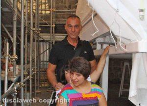 Raffaele Ascenzi con Camilla e Silvia