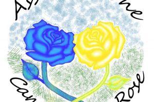 Viterbo - Il logo dell'associazione Campo delle rose