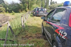 Gradoli - Die electrocuted at Lake Bolsena - Carabinieri on the spot