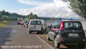 Gradoli - Die electrocuted at Lake Bolsena - Carabinieri and 118 on the spot