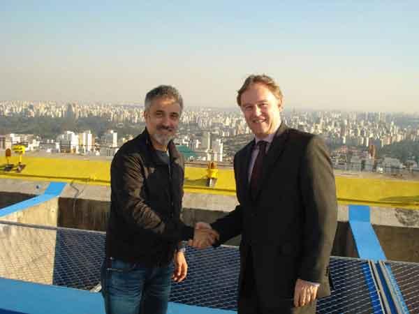 Sergi Arola con Bernard Mercier, Director Regional de Operaciones de Tivoli Hotels & Resorts en Brasil
