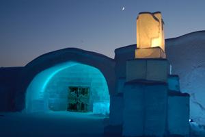 Ice Hotel. Foto Peter Grant
