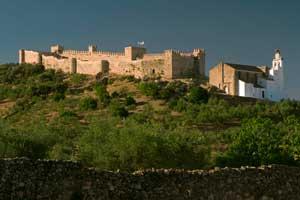 La ruta de los castillos de Huelva