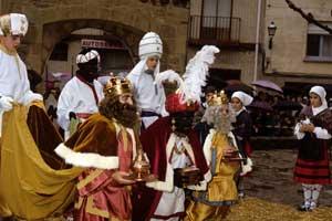 Auto de los Reyes Magos de Sangüesa. © Domench y Azpilicueta