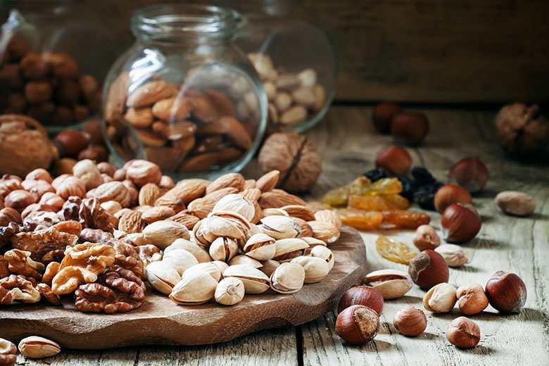 Frutos secos como alimento para combatir el resfriado