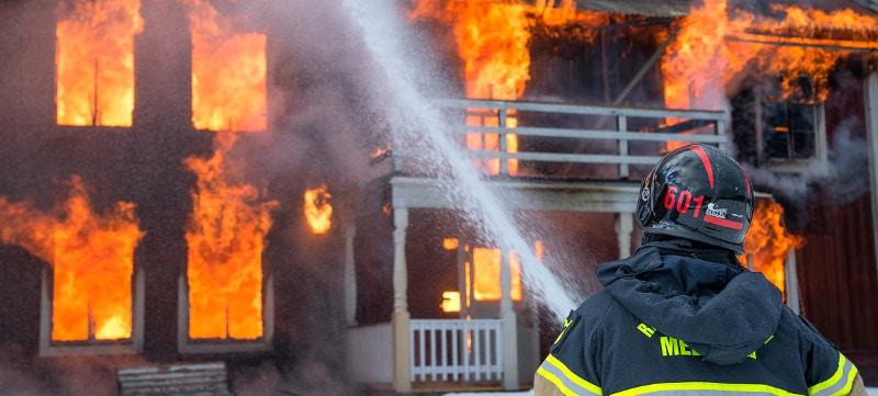 Rociadores incendios para el seguro de hogar