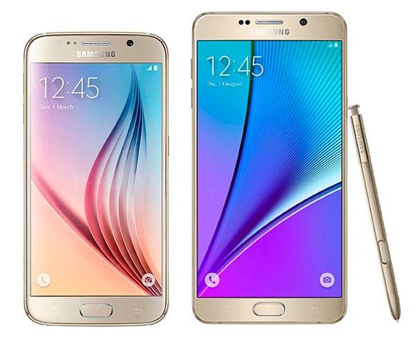 Samsung Galaxy S6 vs <stro data-recalc-dims=