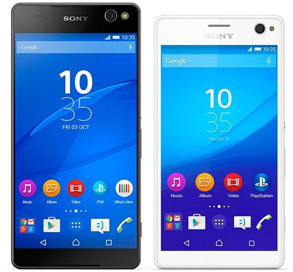 Sony Xperia® C5 Ultra vs <stro data-recalc-dims=