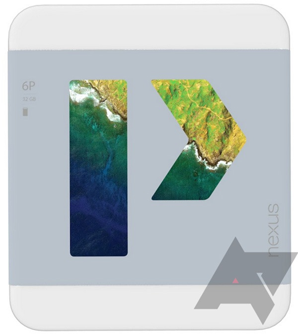 Google Nexus 6P, embalaje