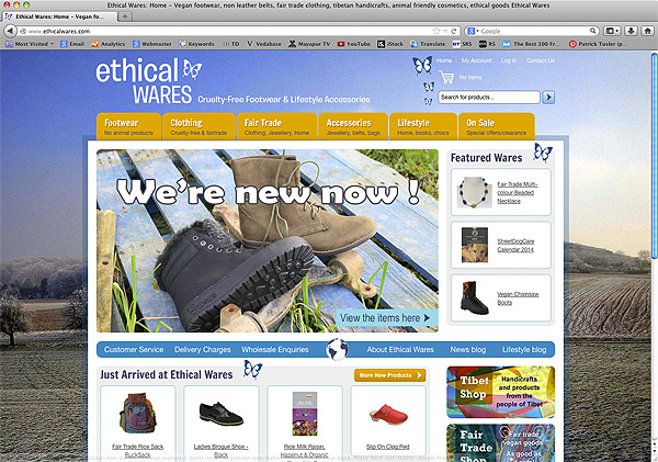 Ethicalwares screen shot