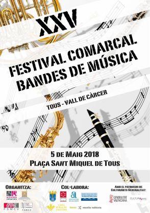 Tous acoge el XXV Festival Comarcal de Bandas de Música FILEminimizer