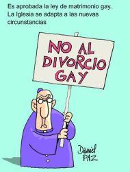 no al divorcio gay