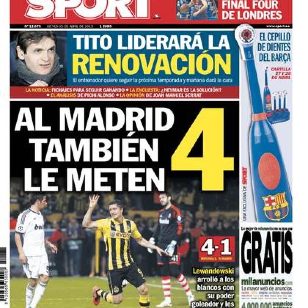 portada sport borussia-madrid-25-4-2013
