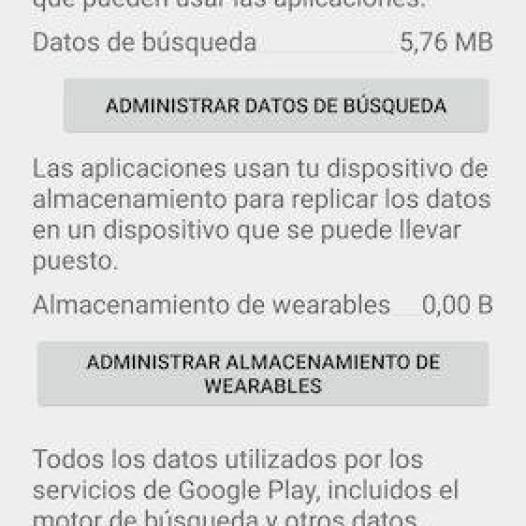 borrar datos servicios de google