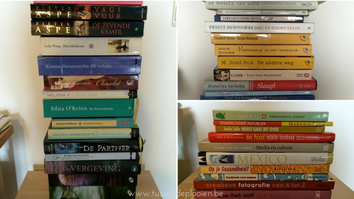 ontspullen - weggeven boeken