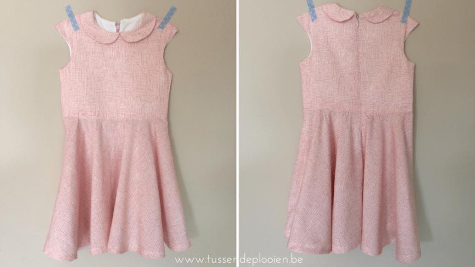 Tinny dress - voor- & achterkant