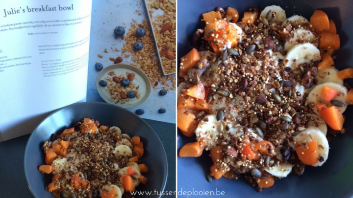 Easy vegan met Julie #kookboekweek - Breakfast bowl