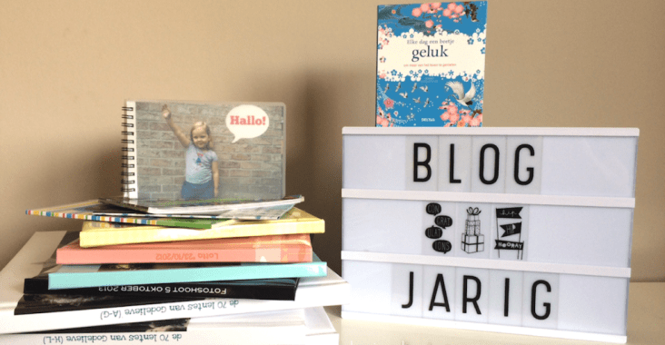 Eerste blogverjaardag