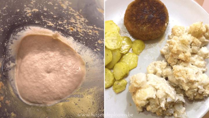 Hoe vervang je kaas? Bloemkool met notenkaassaus van Easy Vegan met Julie