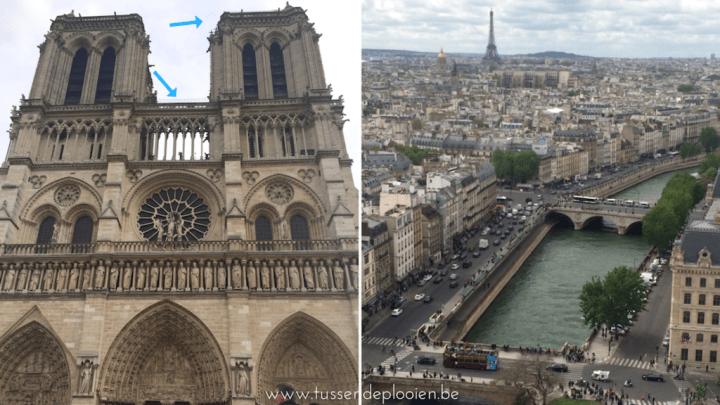 Citytrip Parijs met kinderen - Notre-Dame torens