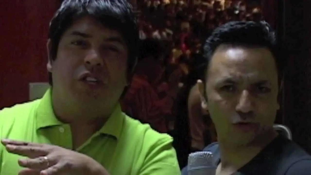En este momento estás viendo En backstage con Los Hijos del Santo – Ensancha 2011