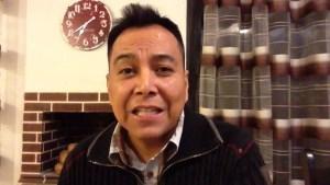 El hombre en crisis, saca lo que tiene adentro – Luis Bravo