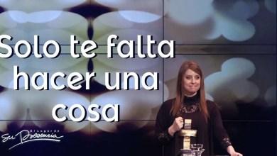Photo of Solo te falta hacer una cosa – Natalia Nieto