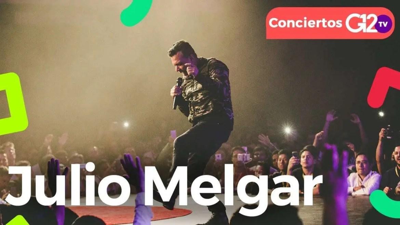 Concierto Julio Melgar en Bogotá, Colombia – G12