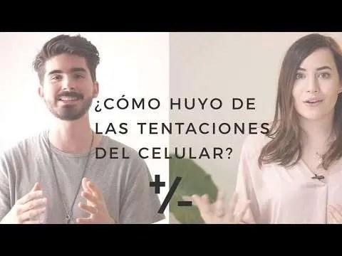 En este momento estás viendo ¿Cómo huyo de las tentaciones del celular? – Majo Solis y Dan