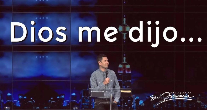 En este momento estás viendo Dios me dijo… – Carlos Olmos