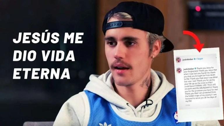 Justing Bieber, mira lo que dijo acerca de Jesús
