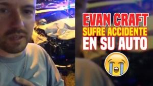 Lee más sobre el artículo Mas detalles del accidente de auto de Evan Craft