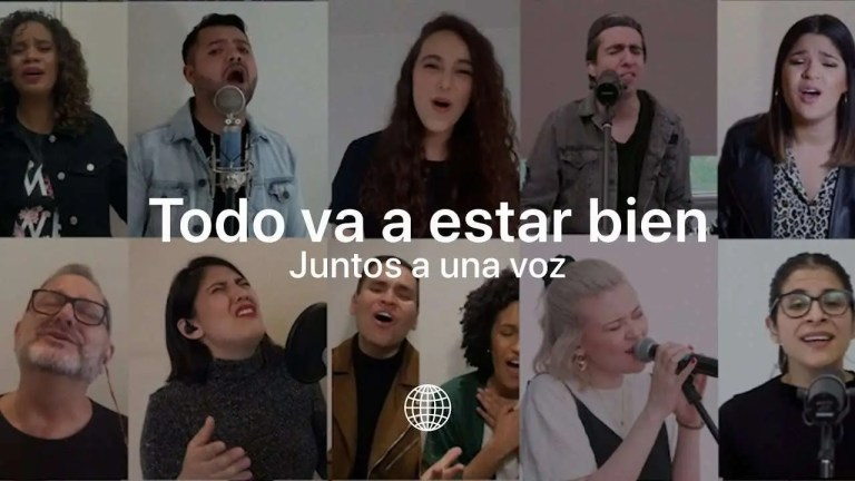 Todo Va A Estar Bien (Juntos a una voz) – Música Más Vida