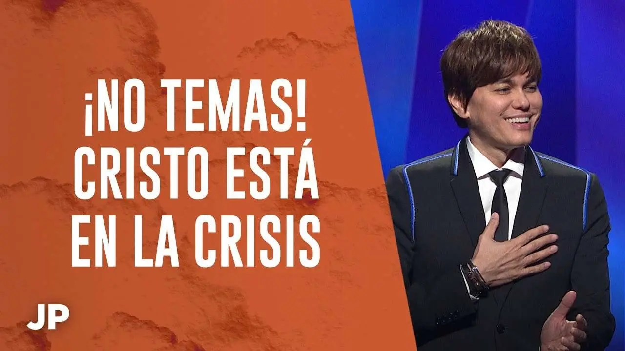 En este momento estás viendo ¡No temas! Cristo está en la crisis – Joseph Prince Spanish