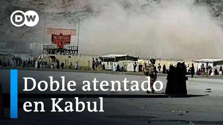 Doble atentado en aeropuerto de kabul