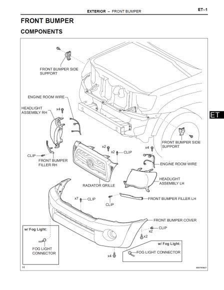 Toyota Tacoma Manual De Taller Y Reparacion