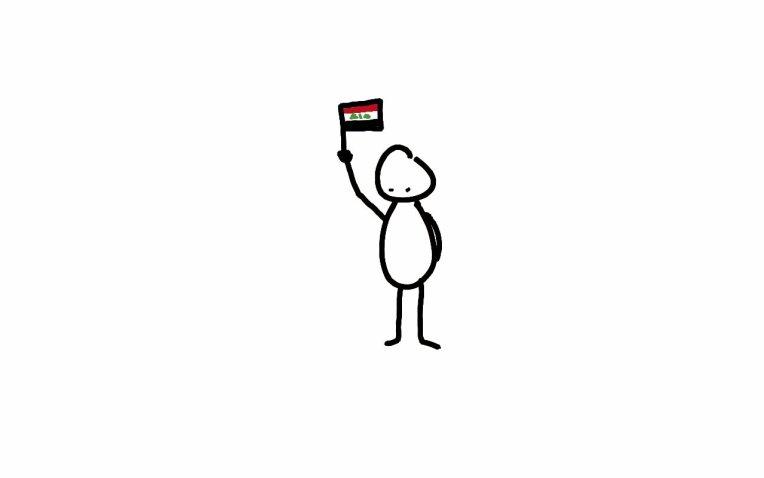 Tut and Groan Baghdad cartoon