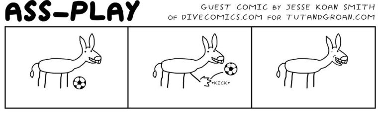Tut and Groan Guest Toon Ass Play by Dive Comics