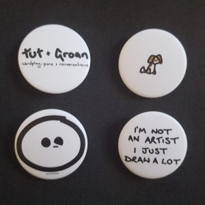 Badges: All Five Designs