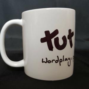 Mug: Tut and Groan Logo and Tagline