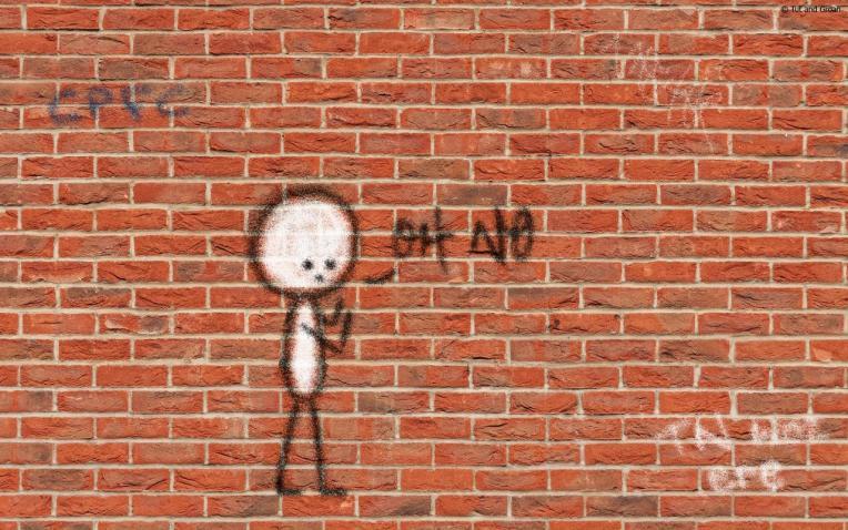 Tut and Groan Graffiti cartoon
