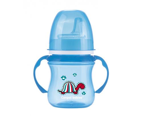 Bicchiere Apprendimento Personalizzato Easy Start Tartaruga Azzurro 120 ml