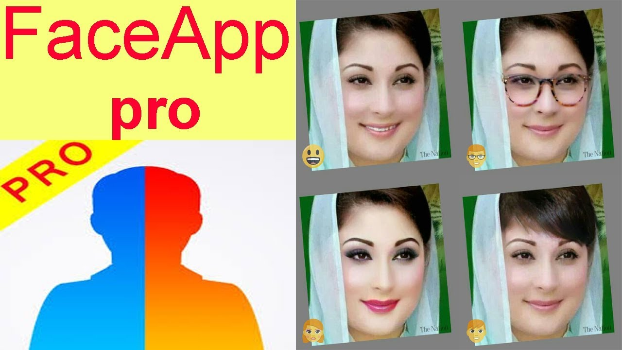 Télécharger FaceApp Pro 2020 Dernière Version Pour Android ...