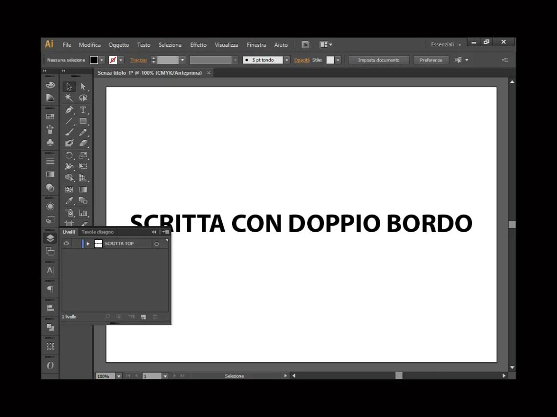 Livello Scritta Top