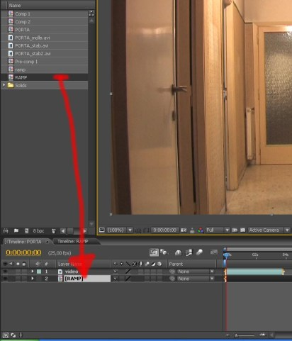 After effects e il displacement – USO DEL TIME DISPLACEMENT 1