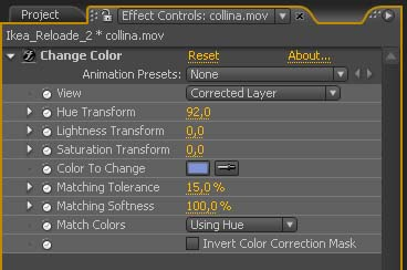 CAMBIARE IL COLORE DI UN OGGETTO CON AFTER EFFECTS – CHANGE COLOR IN AFTER EFFECTS 2