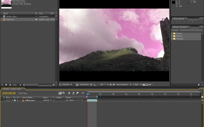 CAMBIARE IL COLORE DI UN OGGETTO CON AFTER EFFECTS – CHANGE COLOR IN AFTER EFFECTS