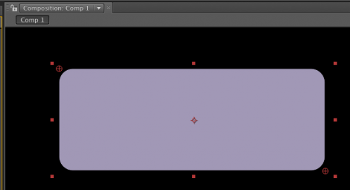 Angoli arrotondati in After Effects 1