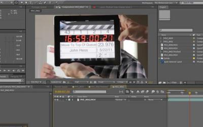 Pulire una lente sporca con after effects