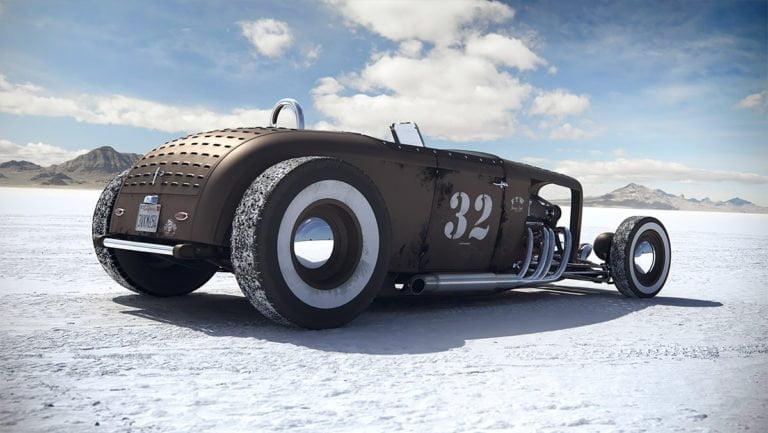 Render 3d di automobili iperrealistici di Carlos Pecino 3